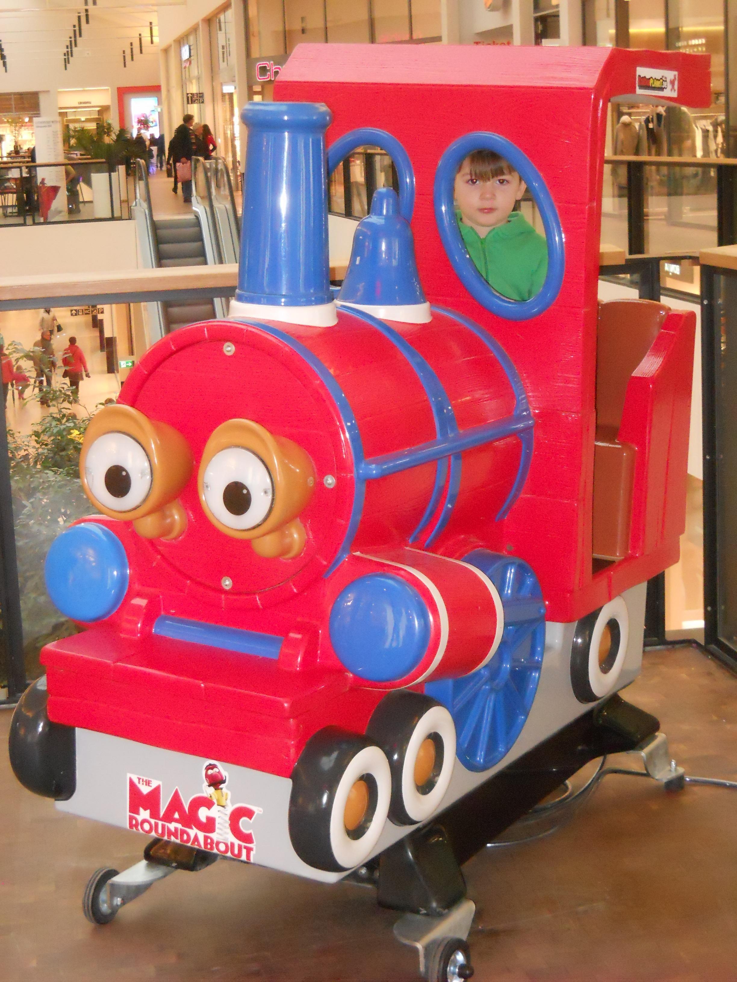 Kinderplanet Magic Roundabout Train