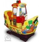Großes Piratenschiff mit Spiel für zwei Kinder