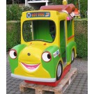 Hank der Hot Dog Verkaufsbus