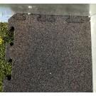 Fallschutzmattenbodenbelag für Bumper Car Fahrbahn in Anthrazit