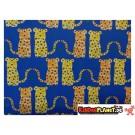 Geschenkpapier Gepard Blau