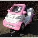Hallo Katze Auto in Pink