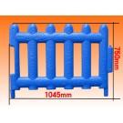 Plastic Fence Zaunelement