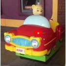 Rupert der Bär im roten Cabrio -> innen mit Video-Monitor!