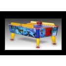 Wasserfester Airhockey-Tisch im Hai-Design groß
