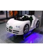 Rennwagen mit LED