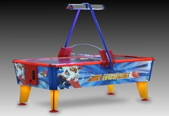 Klassischer Airhockey-Tisch groß