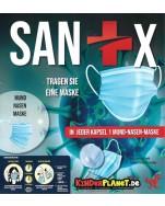 Sanix MUND- und NASEN-Maske 63 mm -> Schützen Sie sich und andere!