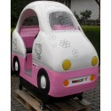 Rosa Katzen Bus Toy Town PINK