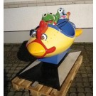 Muppetspace Ship mit Kermit + Gonzo