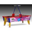 Airhockey-Tisch im Flugzeugdesign