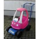 Kinder-Einkaufswagen Rosa