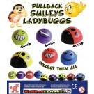 Ladybuggs/Smileys zum Aufziehen 55mm