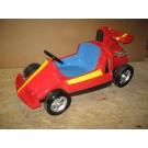 Oberteil 360 Racer rot mit gelbem Streifen blauem Sitz