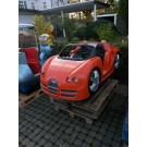Rennwagen mit LED, Orange