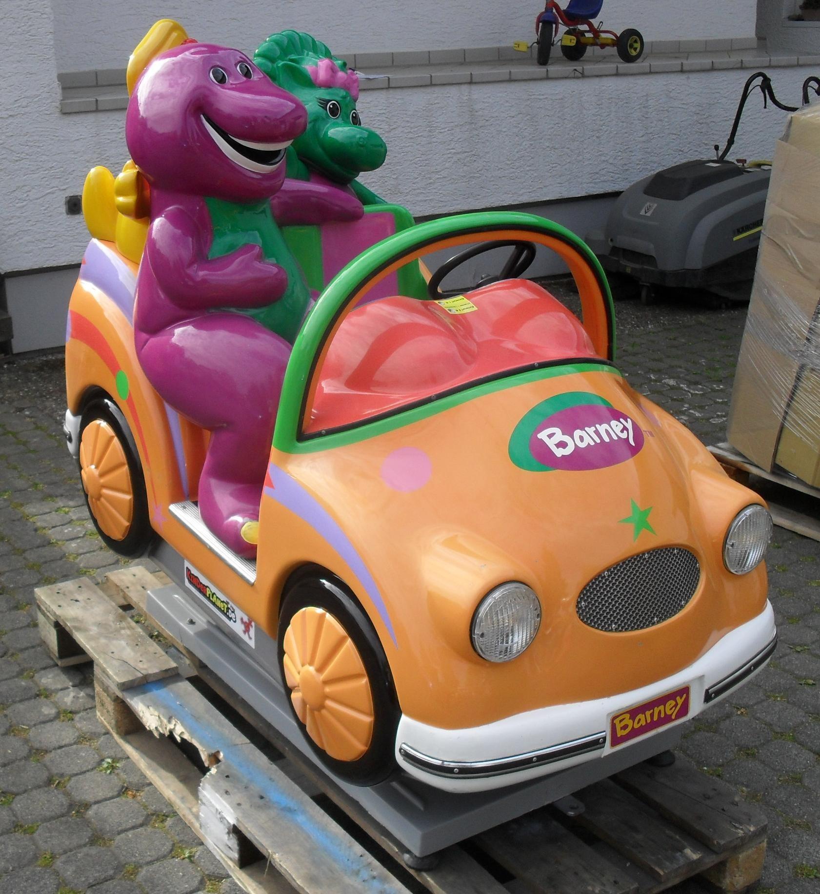 Barney Dino Auto