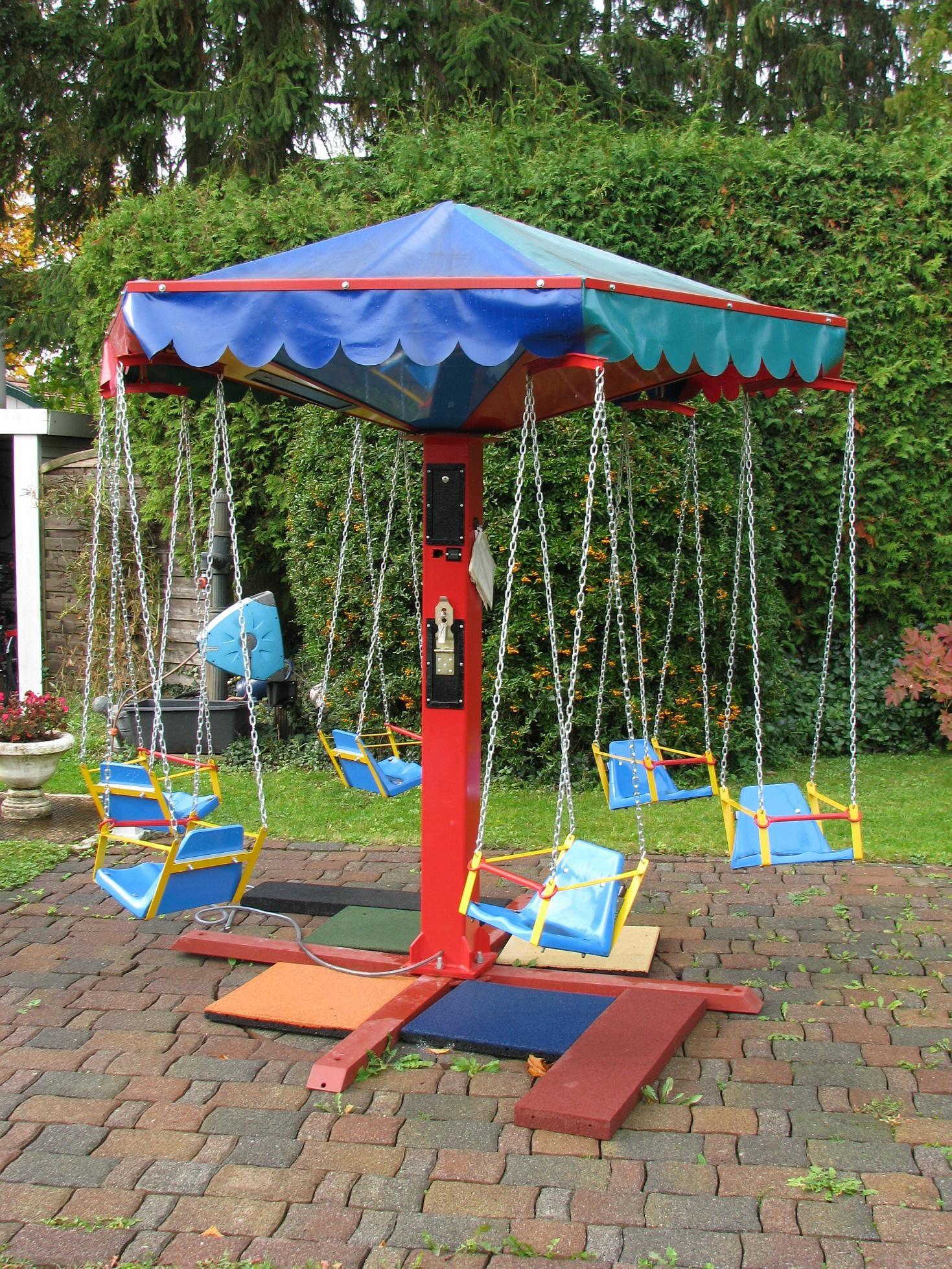 Kinder-Karussell 6-sitzig