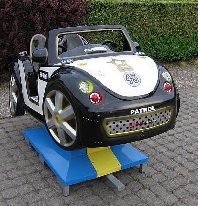 US Police Roadster schwarz weiß gebraucht