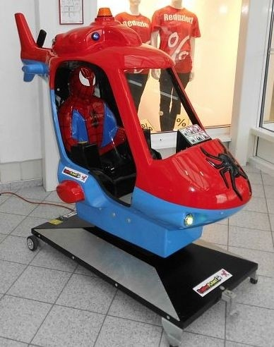Spiderman Copter, Original Lizenz-Gerät!
