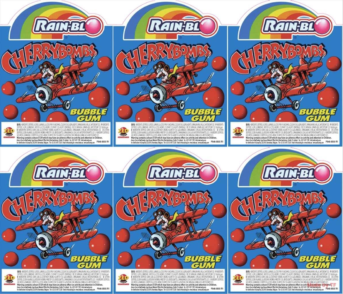 Cherry Bomb Kaugummis