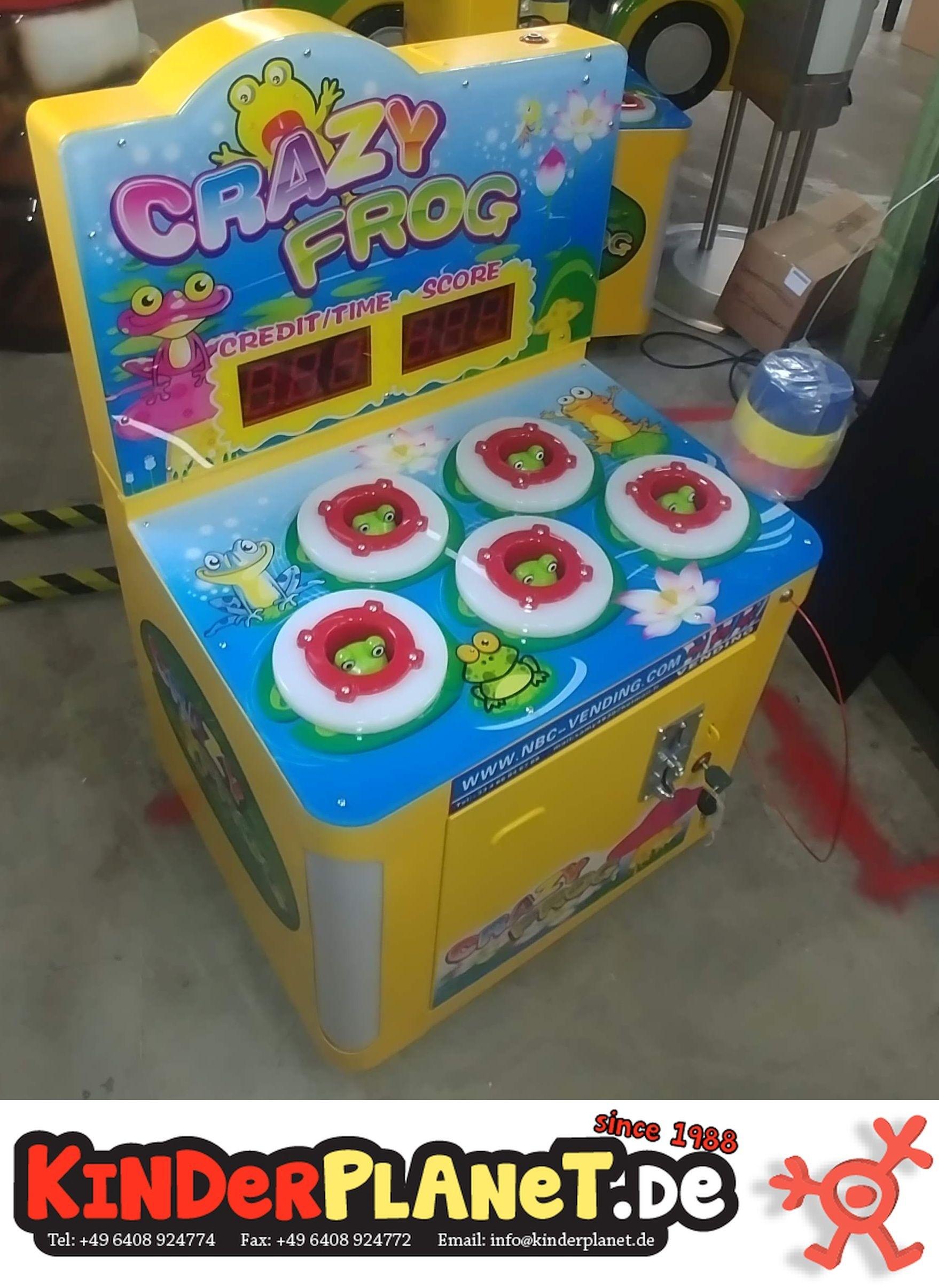 Frosch Frenzy Hammerspiel