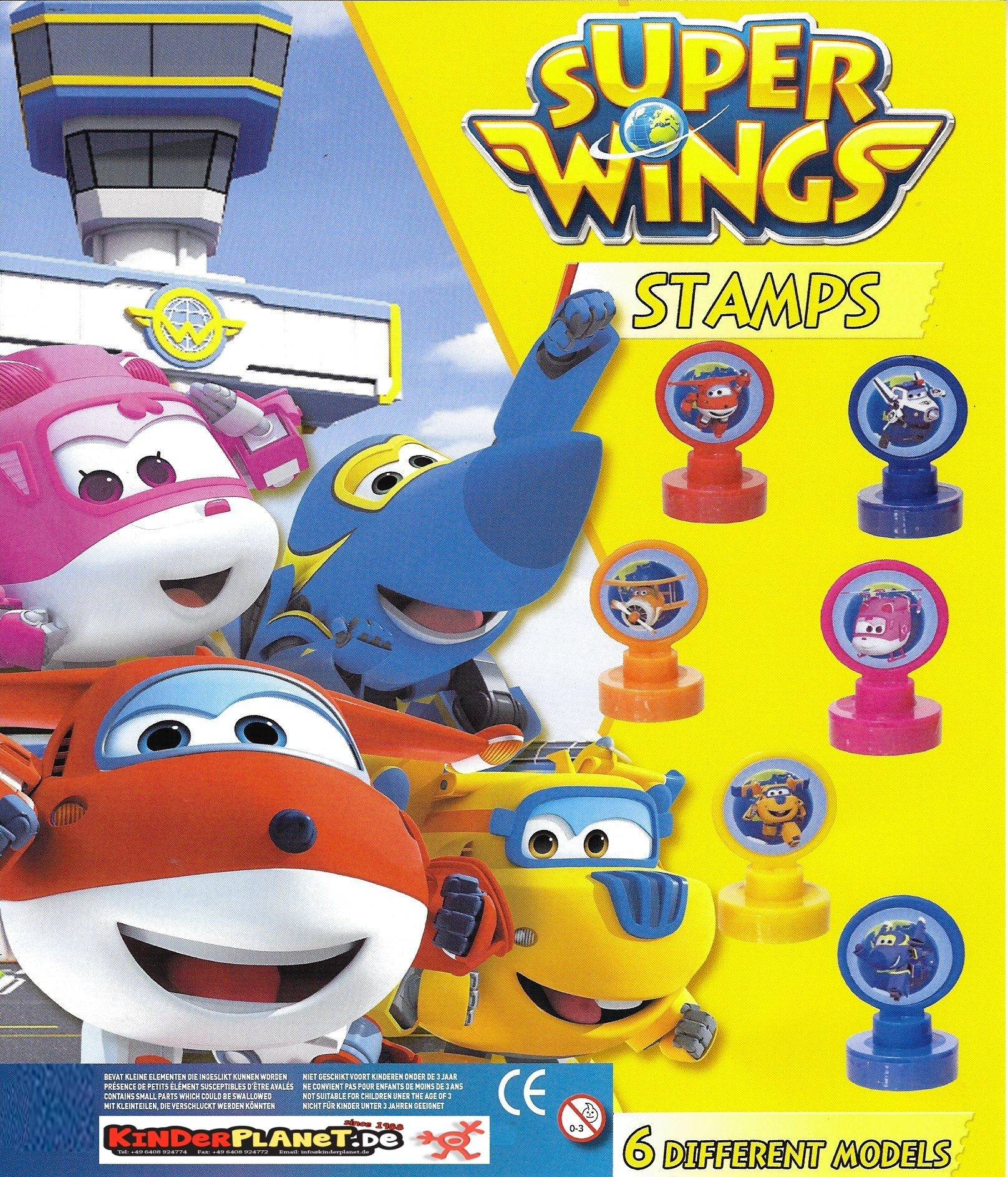 SuperWings Stempel 55mm