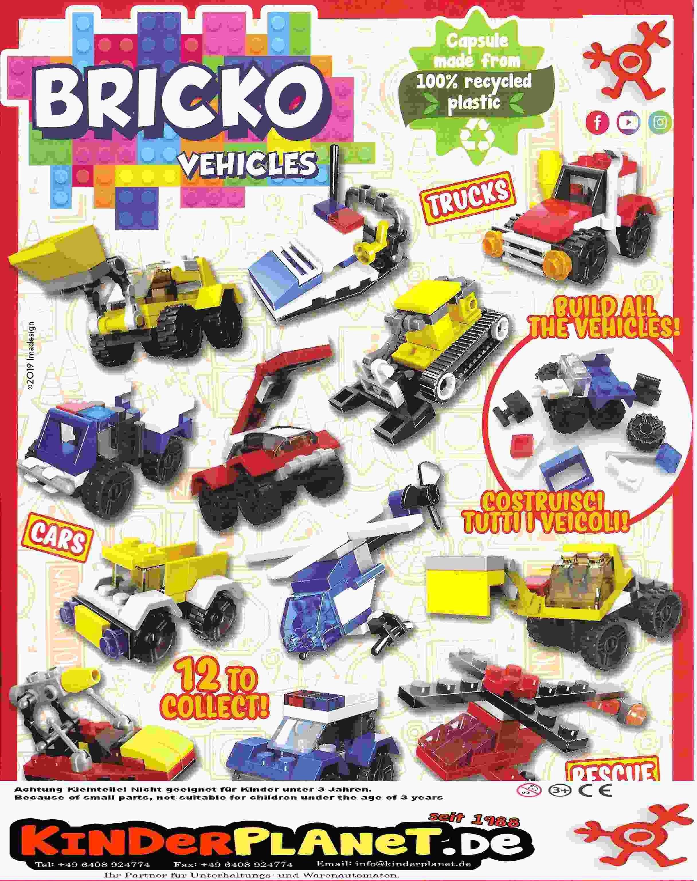 Tolle Fahrzeuge aus Bausteinen