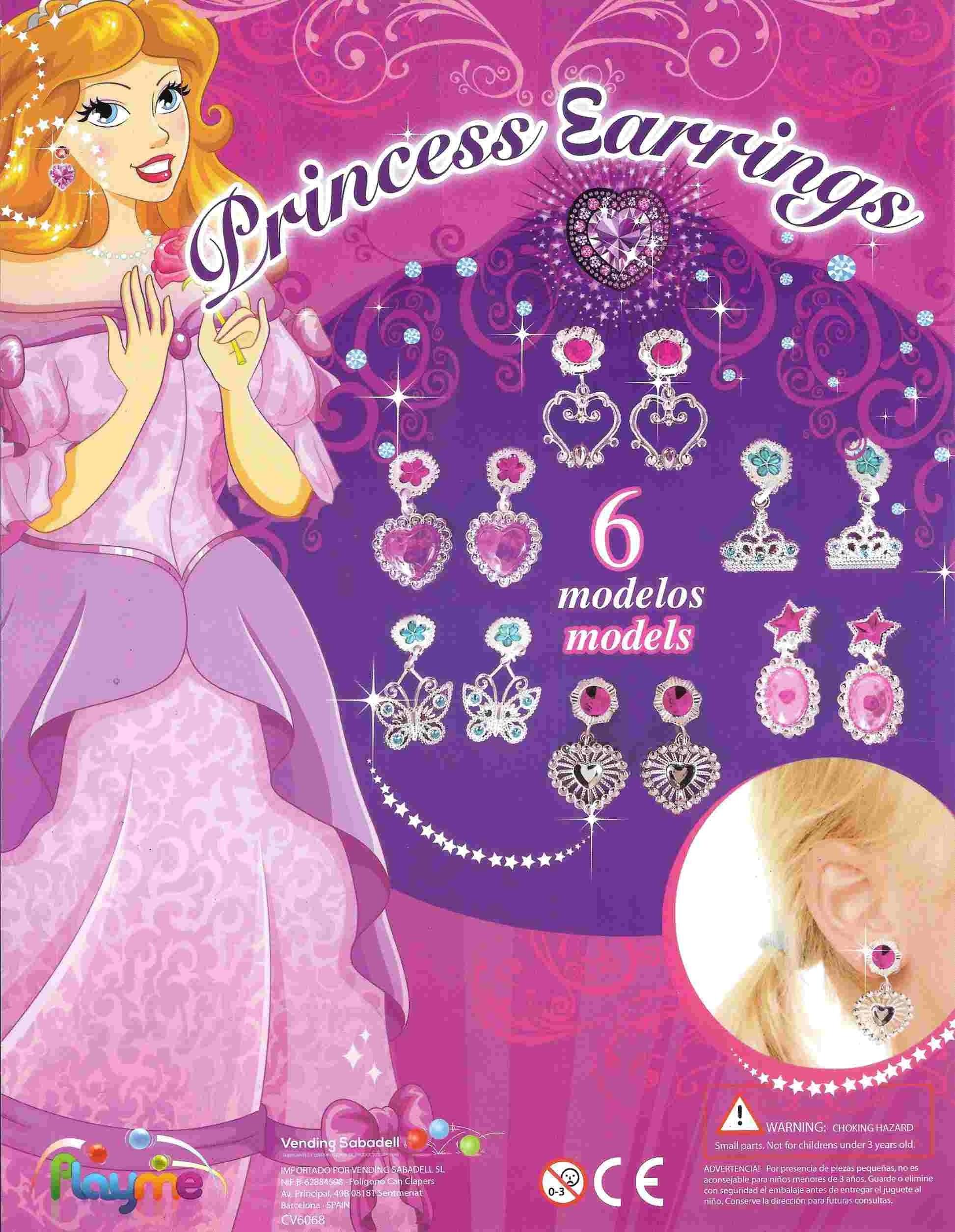 Ohrringe Prinzessin, viele verschiedene!