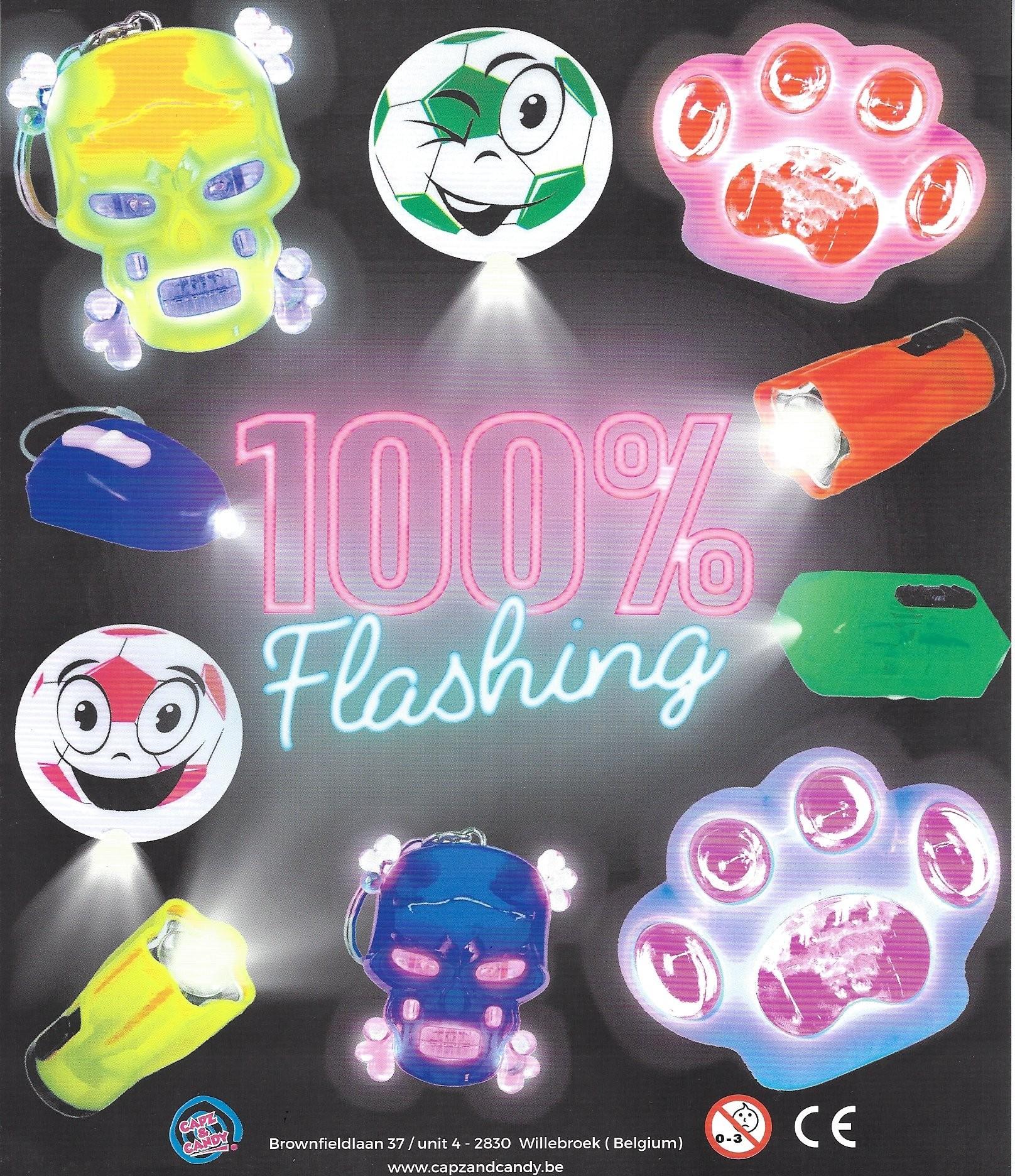 100% Flashing MIX in 55mm Kapsel