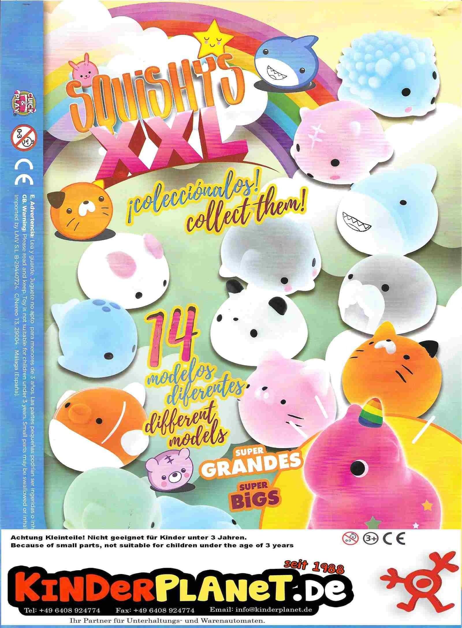 Quetsch-Tiere Suishy  Animals 60mm