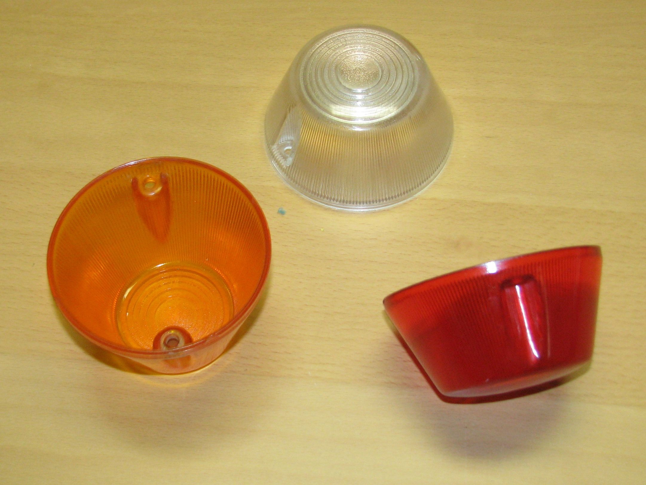 Lampenkappen verschiedene Farben & Größen, z.B. für 450HU  95mm Durchmesser