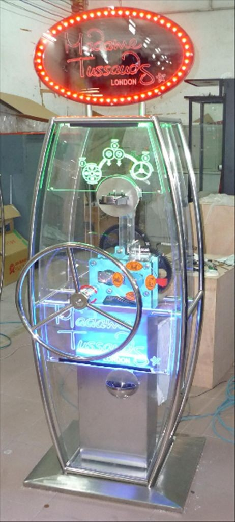 Penny Presser Design-Version mit LED Beleuchtung