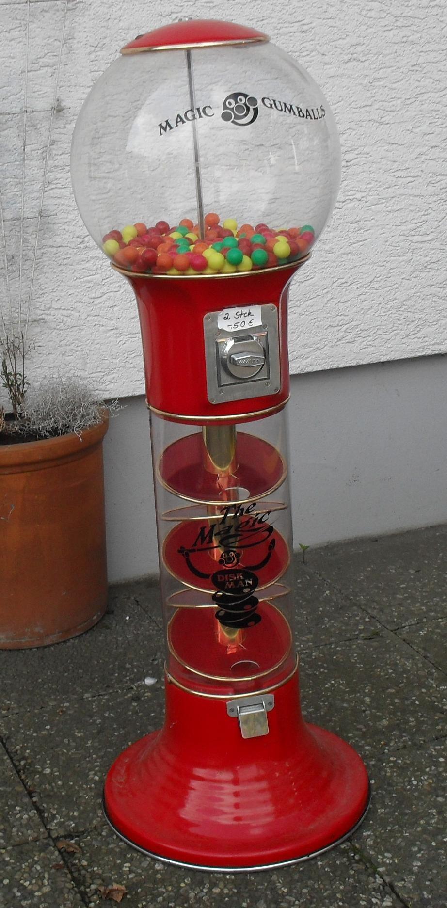 Magic Gumball Kaugummiautomat Wizzard