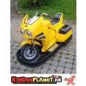 Batteriemotorrad (gelb)
