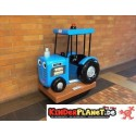 Troy the Tractor, blue