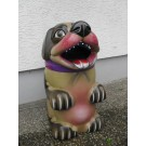 Sprechender Mülleimer Hund mit LED Zähnen