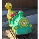 Sesamstrassen Lokomotive mit Bibo und Elmo