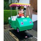 Mickey Maus Golf Car Original Walt Disney Lizenz Groupe Christian Dubosq