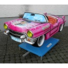 Pink Cadillac mit Elvis Airbrush -> very hot!