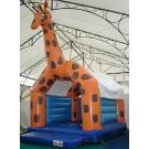 Hüpfburg Giraffe