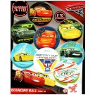 Flummis Disney Cars 45mm