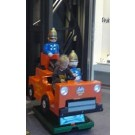 Trumpton Feuerwehr Auto
