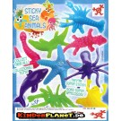 Sticky Sea Animals Meerestiere in 55mm Kapsel