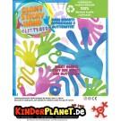 Giant Sticky Hand Glitter in 55mm Kapsel