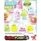 Sticky Friends in 55mm Kapsel