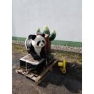 Panda - Bullriding, klein
