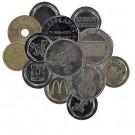 Verschiedene Wertmünzen