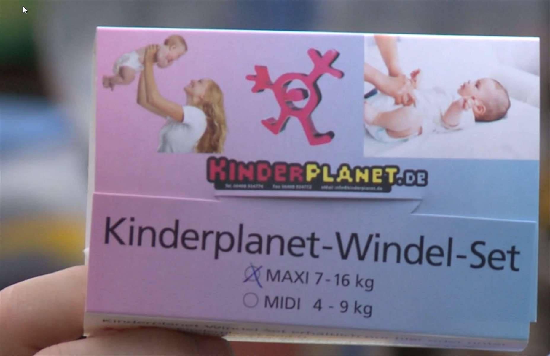 Kinderplanet Windelset Midi