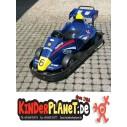 Batteriauto (blau) im Formel Look