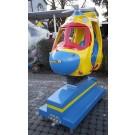 Helicopter Hubschrauber Bunt mit Auf- und Ab-Bewegung!